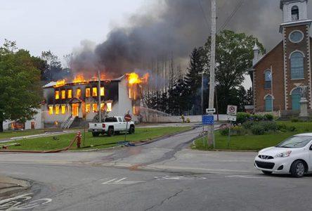 La résidence du maire de Saint-Thuribe incendiée