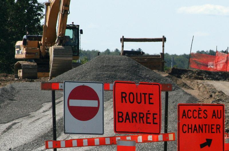 Nombreux chantiers routiers prévus cet été