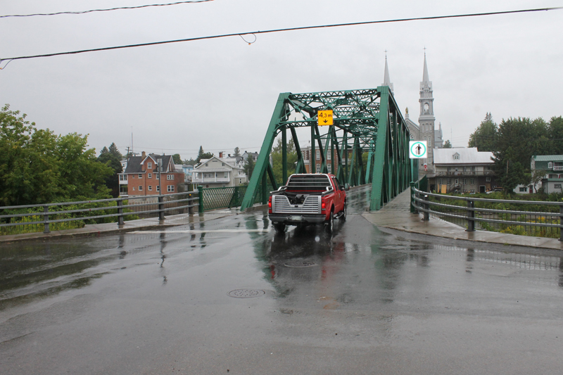 Le pont de Saint-Casimir fermé pour inspection demain