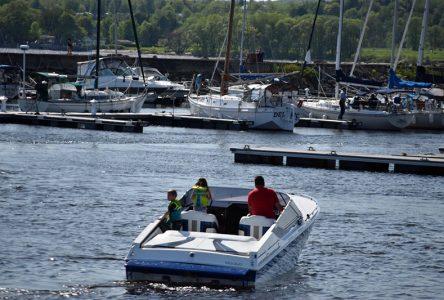 Fête du nautisme au quai de Portneuf