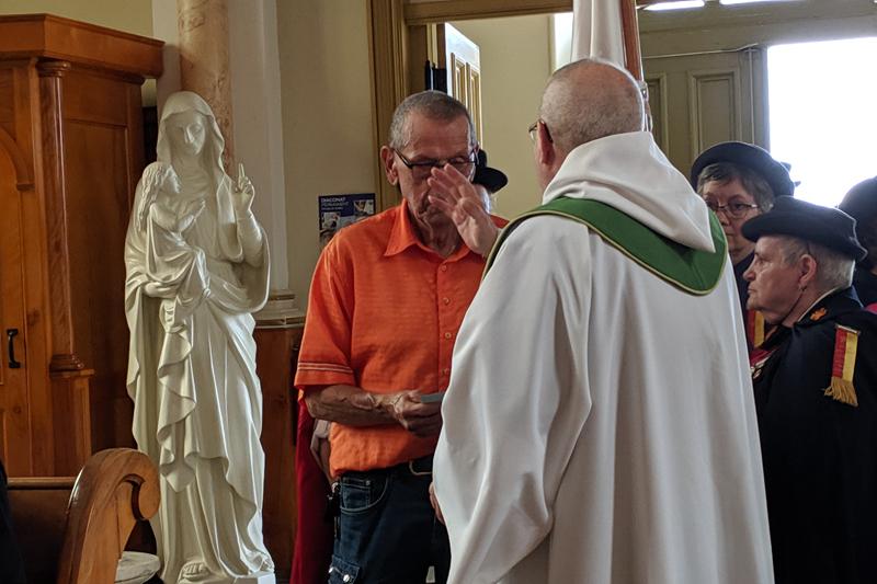 La messe des malades à Saint-Casimir