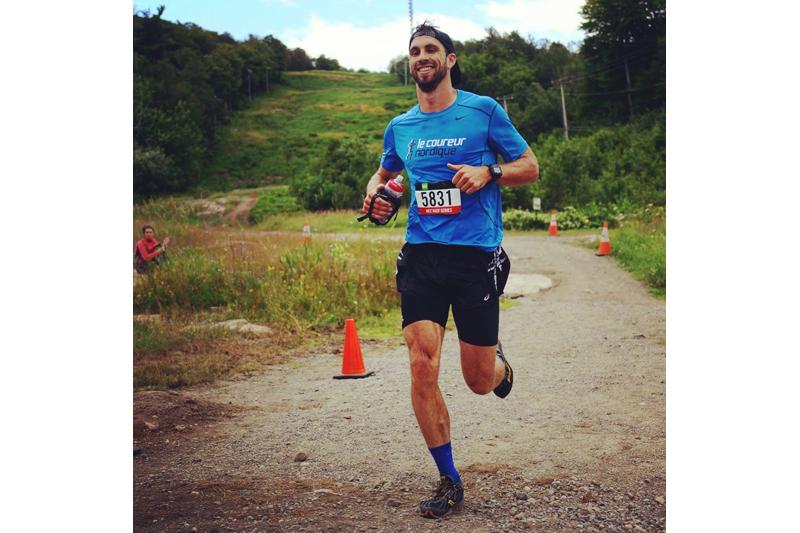 Alexandre Genois se prépare à courir 450 km au Tor des Glaciers