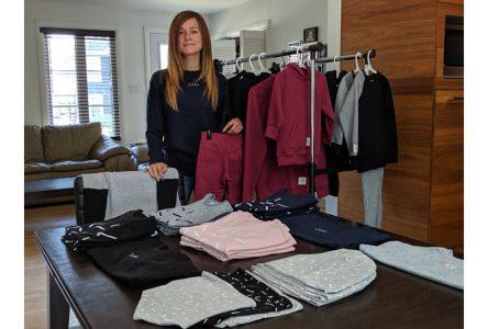 Une designer de Pont-Rouge se lance en affaires