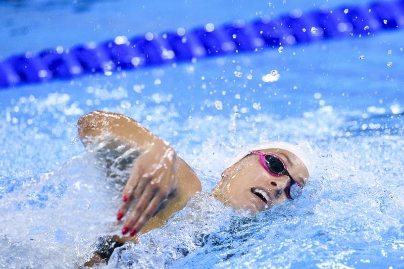 Katerine Savard rapporte trois médailles du Pérou