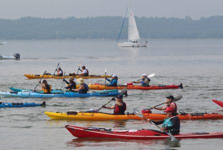 L'orage annule l'étape du Défi kayak à Portneuf