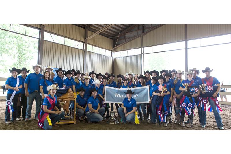 Portneuf au Championnat d'équitation western du Québec