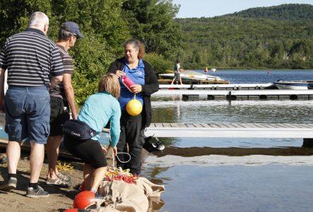 Lac-Sergent veut étouffer le myriophylle