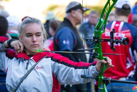 Jessica Beaumont, 17e au mondial de tir à l'arc