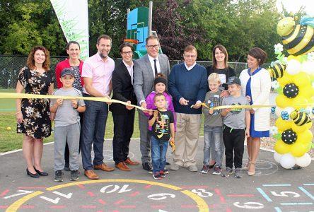 Le parc-école des Bourdons inauguré à Neuville