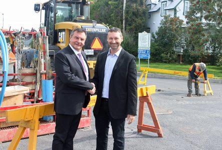 Des travaux de 2M$ pour deux rues à Saint-Ubalde