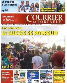Courrier de Portneuf du 11 septembre 2019