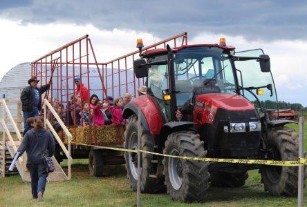 Plus de 3000 visiteurs dans les fermes