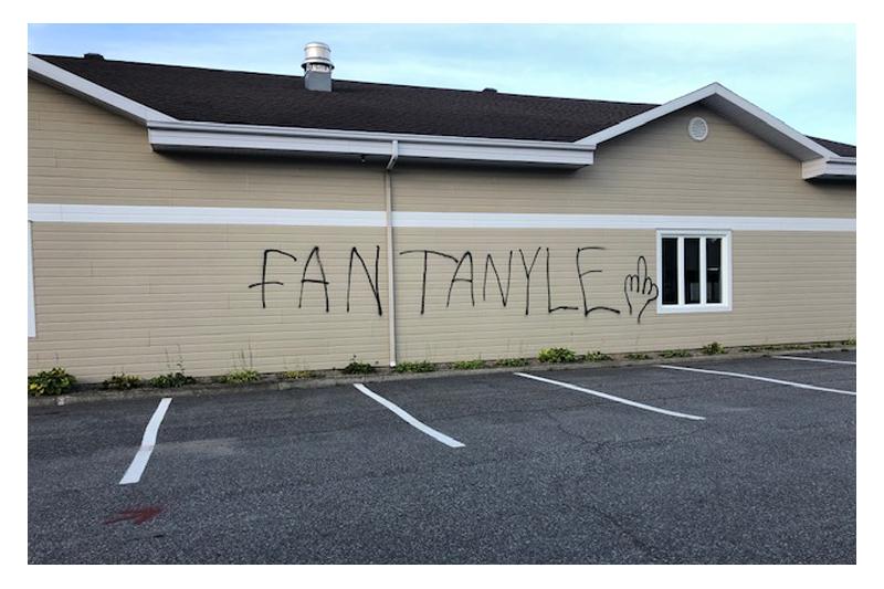 Actes de vandalisme à Donnacona