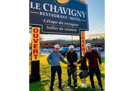 Nouveaux proprios pour Le Chavigny