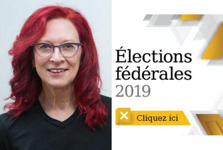 Marie-Claude Gaudet dépasse l'objectif du Parti vert