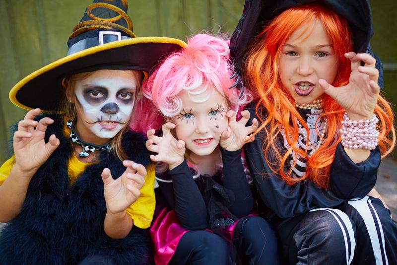 À l'Halloween, déguisez-vous en enfants prudents