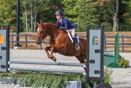 Hugo Boisvert, médaillé aux Jeux équestres