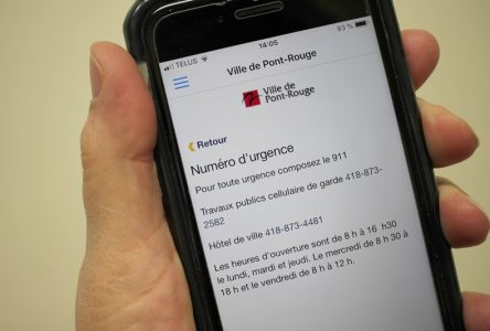 Une application pour les messages d'urgence à Pont-Rouge