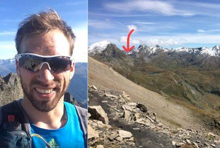 Alexandre Genois a «atteint la limite» au Tor des Glaciers