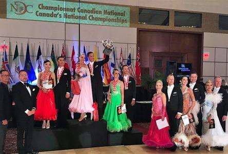 Champions canadiens en danse de compétition