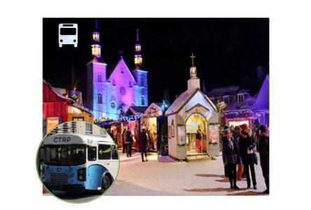 Des bus pour se rendre au Noël d'antan