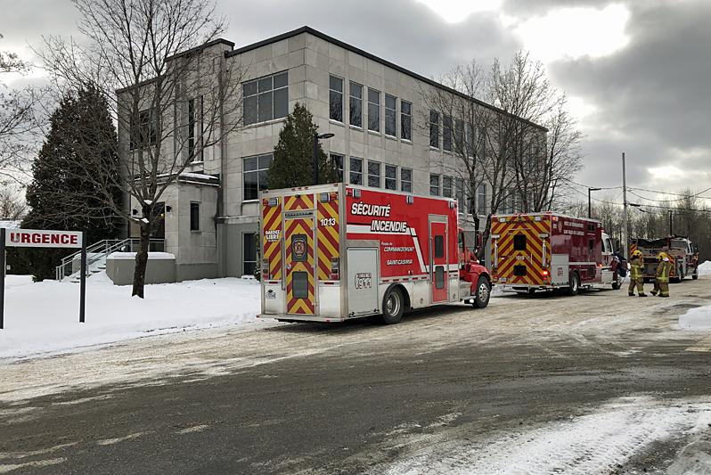 Évacuation de l'urgence de Saint-Marc-des-Carrières