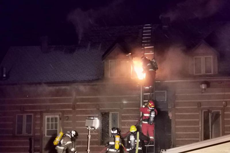 Incendie à la Chambre de commerce de Saint-Raymond