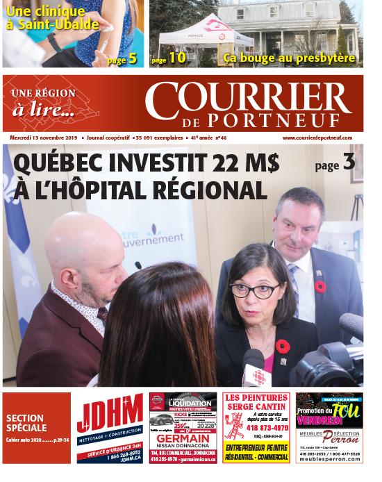 Courrier de Portneuf du 13 novembre 2019