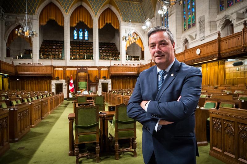 Joël Godin vise la présidence de la Chambre des communes
