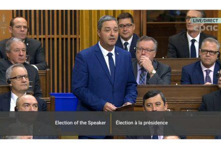 Le député Joël Godin reste sur sa banquette