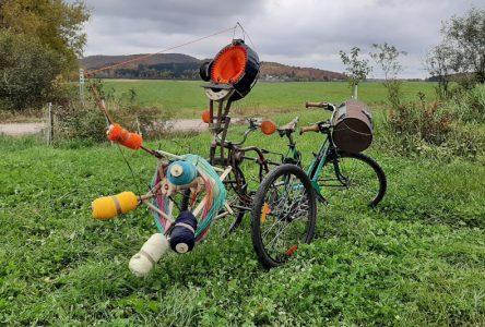 Le «Tric-o-mobile» à Saint-Raymond