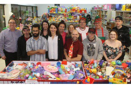 Magie de Noël avec des jouets usagés à Saint-Raymond