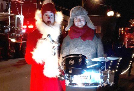 Défilé de Noël à Grondines
