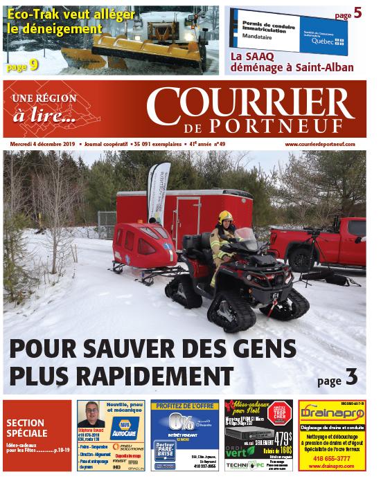 Courrier de Portneuf du 4 décembre 2019