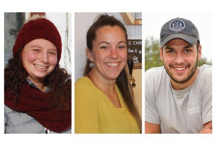 Coup de pouce à trois jeunes entrepreneurs de l'agroalimentaire