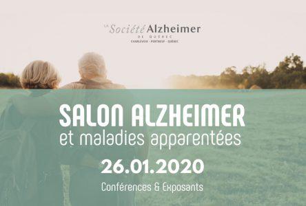 Le Château et Le Halo au mois de l'Alzheimer