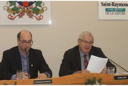 Saint-Raymond: budget de 18M$ et la neige coûte cher