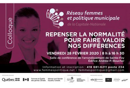 Colloque Femmes et politique : les femmes doivent faire valoir leur différence