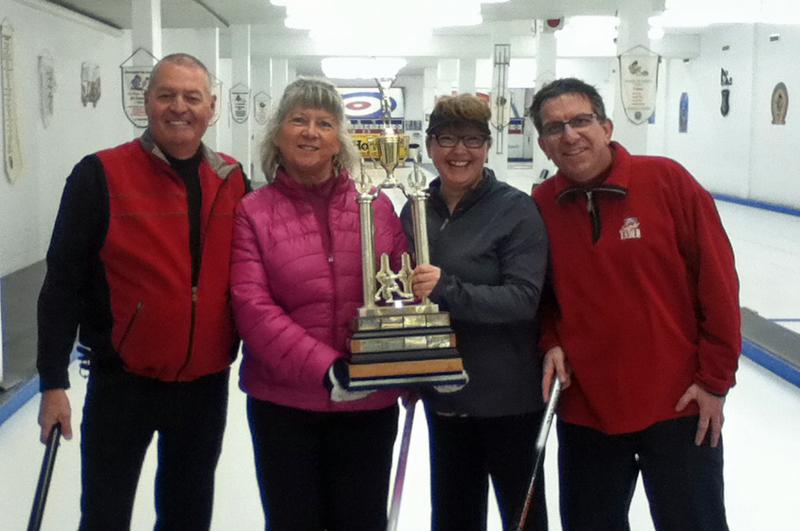Gagnants du tournoi de curling «Invitation Promutuel»