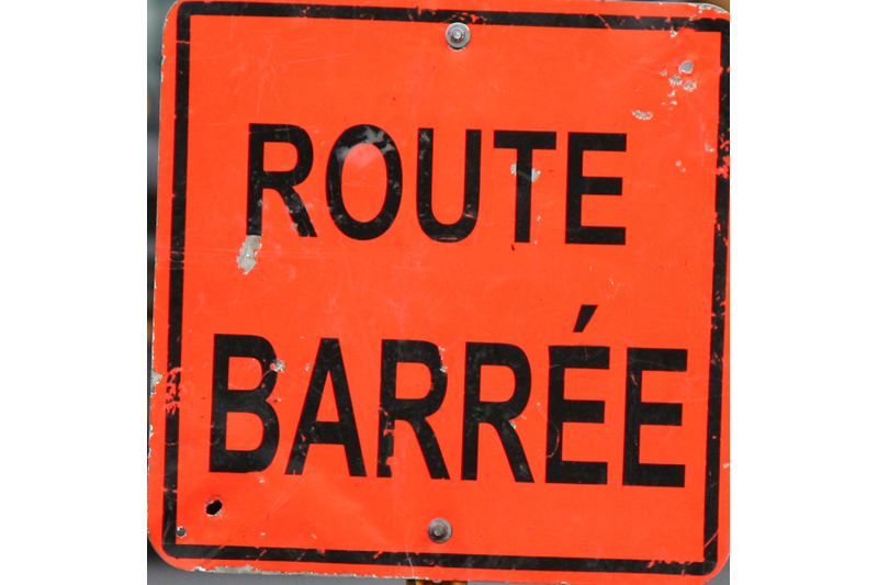 Fermeture de route: la 365 fermée entre Pont-Rouge et l'autoroute 40