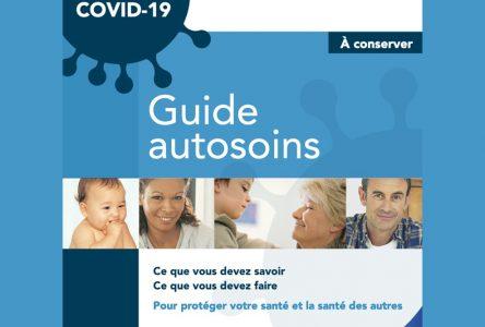 Québec lance le Guide autosoins de la COVID-19 sur le Web