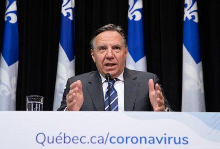 Consignes sanitaires: il y aura des amendes pour les récalcitrants, avertit François Legault