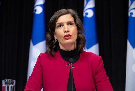 «Déconfinement ne veux pas dire relâchement», dit la ministre Guilbault