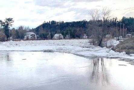 Plus de crainte d'inondation à Saint-Raymond