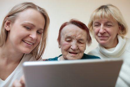 iPad, proches aidants et primes