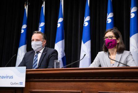 Québec encourage le port du masque