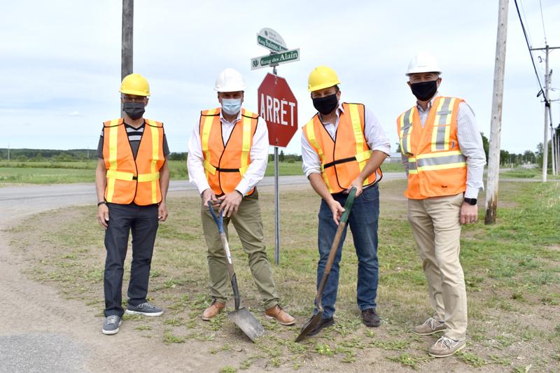 4,2 M$ pour améliorer les routes à Rivière-à-Pierre, Pont-Rouge et Saint-Basile