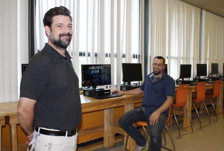 Nouvel espace de créativité à l'école secondaire Donnacona