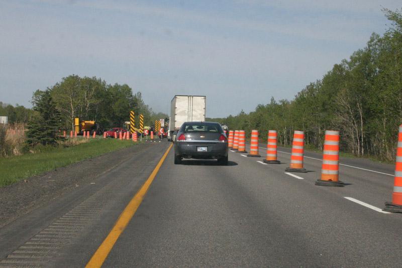 Asphaltage sur l'autoroute 40: début des travaux dimanche soir
