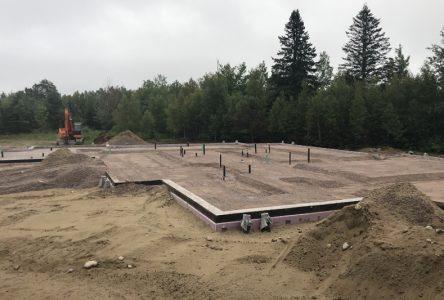 La Maison Mirépi 2e étape en construction